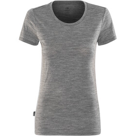 Icebreaker Tech Lite SS Low Crew Shirt Women gritstone hthr